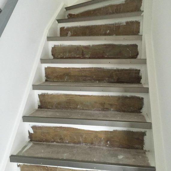 PVC Vloerbedekking op de trap