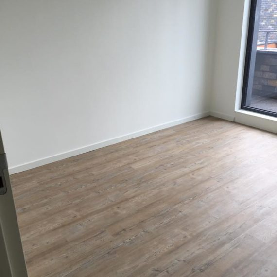 pvc vloer appartement slaapkamer houtlook Harderwijk