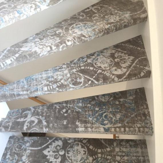 Vloeren trap vloerbedekking