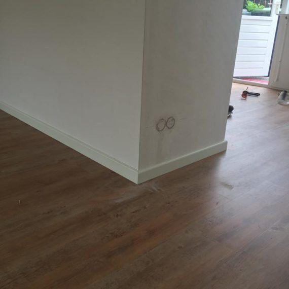 pvc vloer houtlook afwerking Nunspeet
