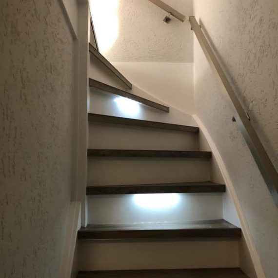 trap PVC met led verlichting