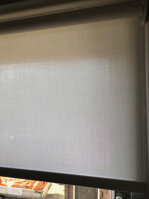 Raamdecoratie rolgordijn